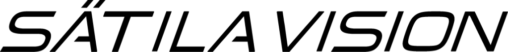 Sätila Vision Logo svart-en rad